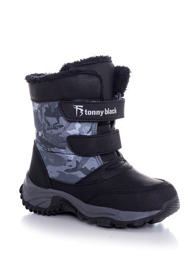 Tonny Black Siyah Çocuk Trekkıng Bot Tbsrk Tbsrk-3_101 Siyah